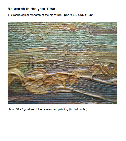 First Research of the painting Landscape with ploughman